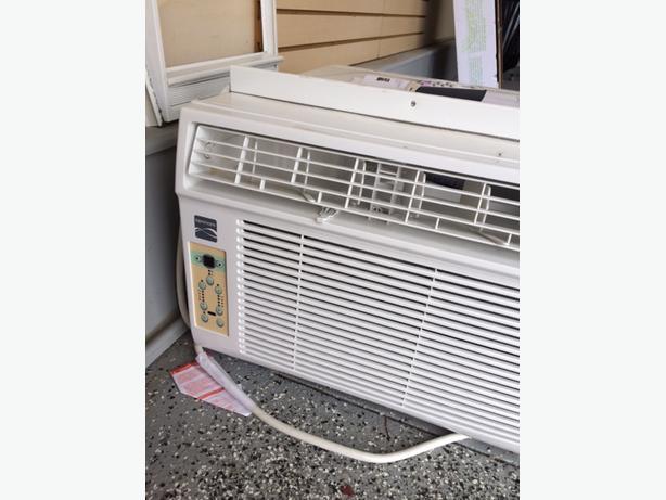 Kenmore 12 000 btu window air conditioner north regina regina for 12k btu window air conditioner