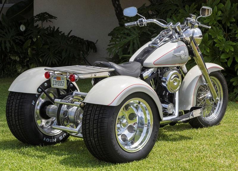 Harley Davidson Red Deer >> NEW Harley Davidson Softails Trike Conversion Kit Outside ...