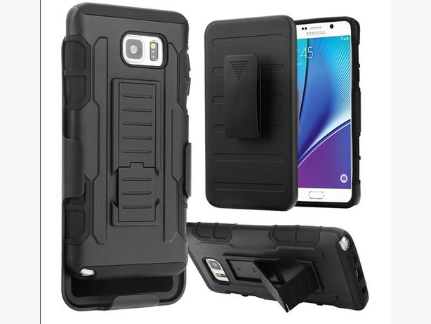 Premium 3 in 1 Armor Hybrid Stand Holster Case for Samsung Note 7