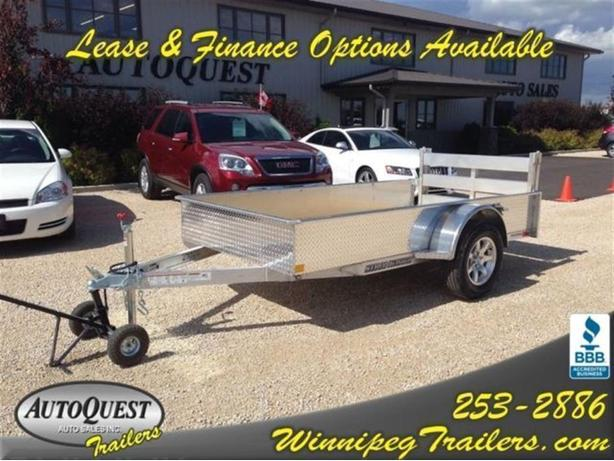 2016 Stronghaul 5 X 10 Solid Side Aluminum Utility Trailer
