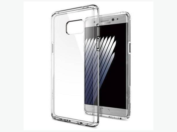 Clear Transparent Gel Case for Samsung Galaxy Note 7