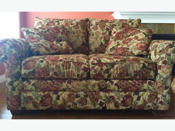 Floral Sofa & Love-seat