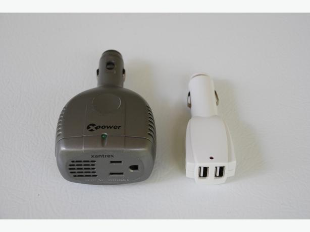 Universal Automotive Adapter (universal converter) & USB Adapter
