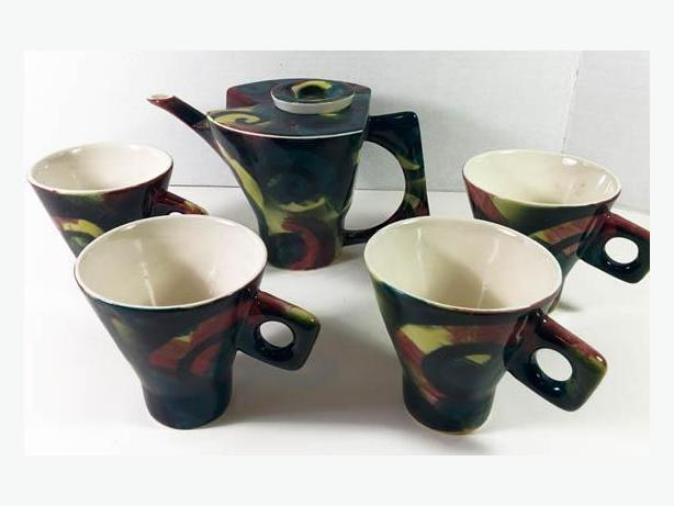 Guy Simoneau, ONE OF A KIND Tea/Coffee Ceramic set