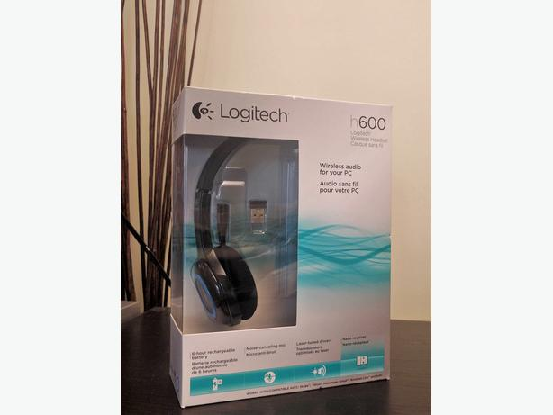 Logitech Wireless Headset H600 - brand new!