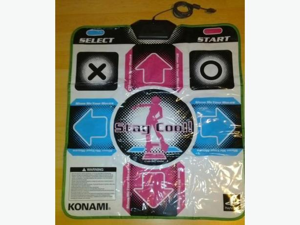 Konami Dance Pad For The Playstation 2