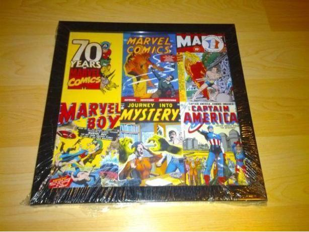 70 Years Of Marvel Comics Framed Art Print