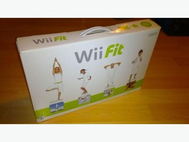 Wii Fit Board In Like New Condition - With Wii Fit game