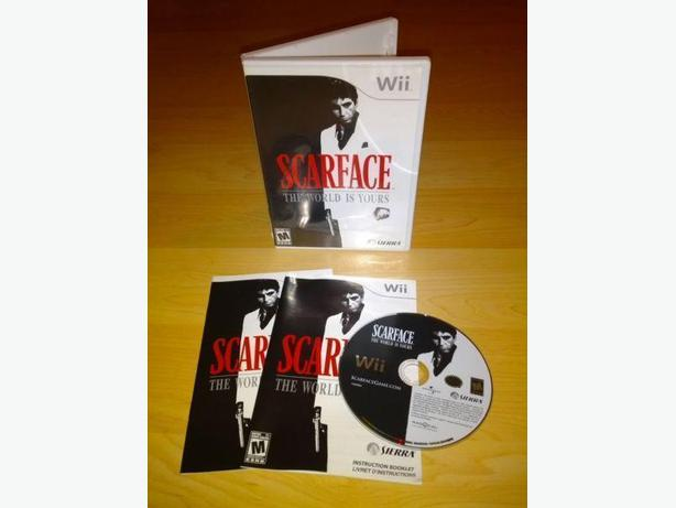 Scarface The World Is Yours For The Nintendo Wii