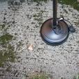 BLACK STANDING LAMP $15