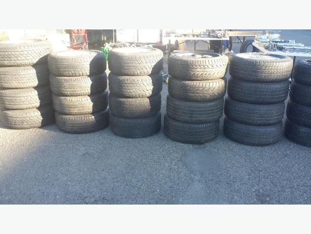 SETS AND PAIRS OF TIRES !!!!!    Also some sets and pairs of snow TIRES !!!