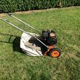 Reel self propelled mower