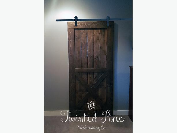 Custom Made Jacobean Barn Door