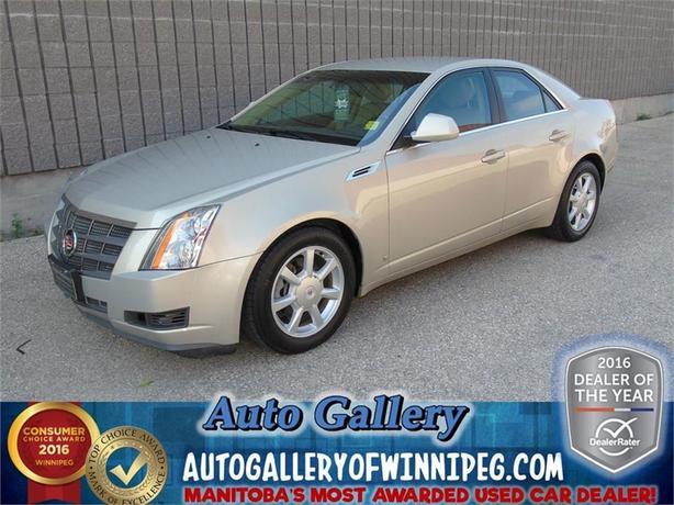 2008 Cadillac CTS 4 *AWD/LTHR/ROOF