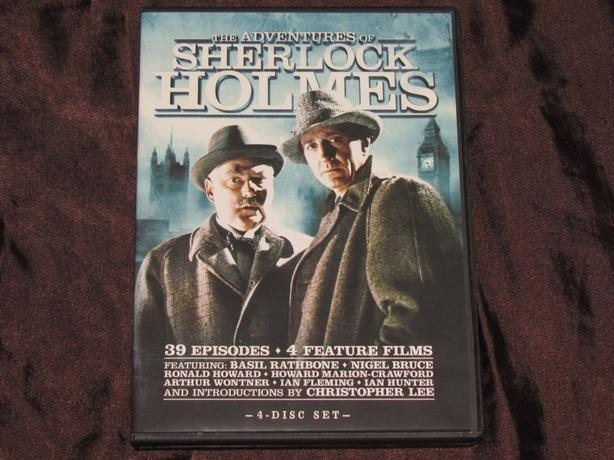 DVD The Adventures of Sherlock Holmes