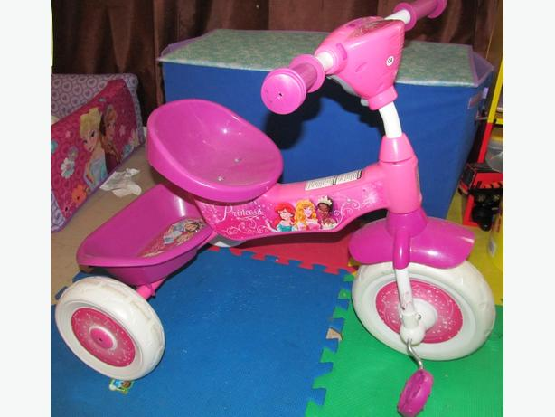 PRINCESS BIKE USED ONCE