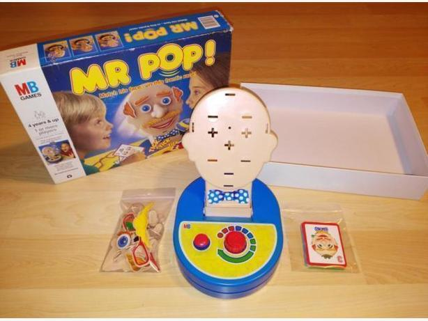 Vintage 1980 Mr. Pop Game From Milton Bradley - Complete