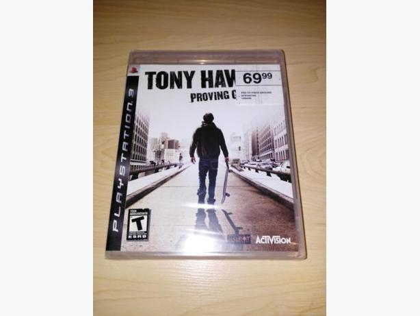 Tony Hawk's Proving Ground For The Playstation 3 - NEW