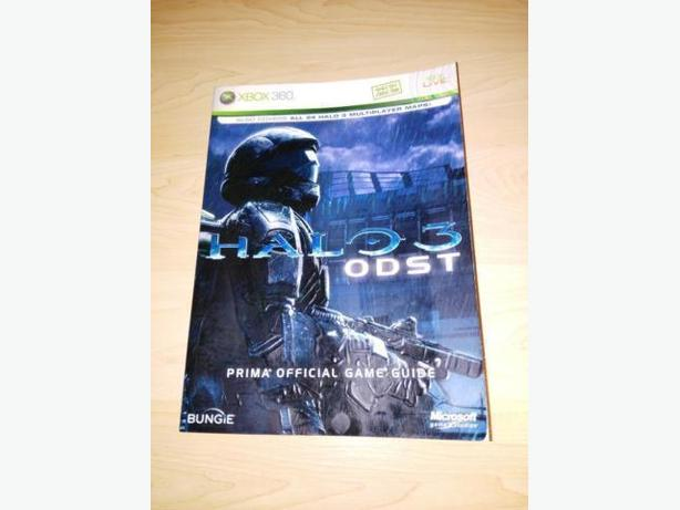 Halo 3 ODST Prima Strategy Guide Xbox 360