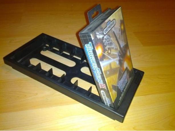 Sega Genesis Game Holder Rack