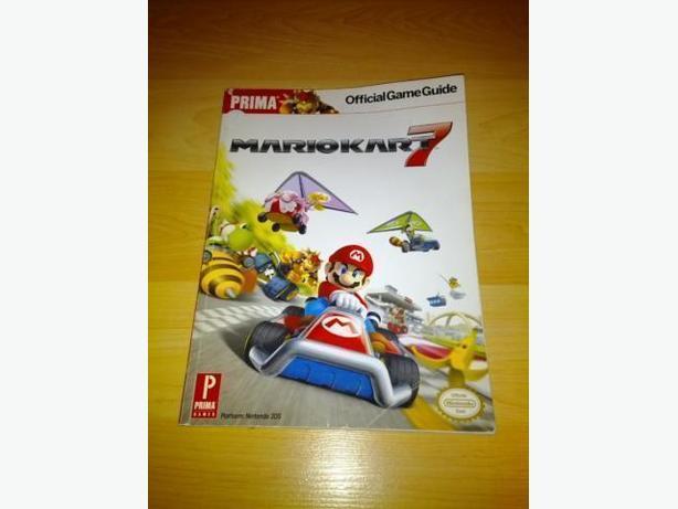 Prima Strategy Guide - Mario Kart 7 Nintendo 3DS
