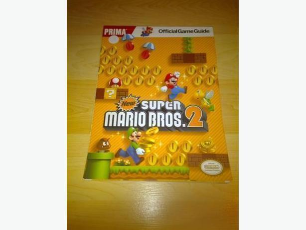 Prima Strategy Guide For New Super Mario Bros 2
