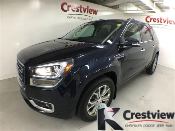 2015 GMC Acadia SLT AWD w/ Leather, Sunroof, Navigation