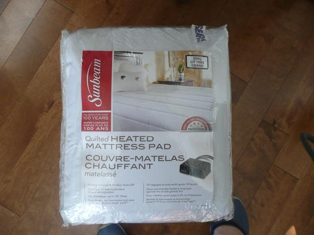 Heated Mattress Pad - King size