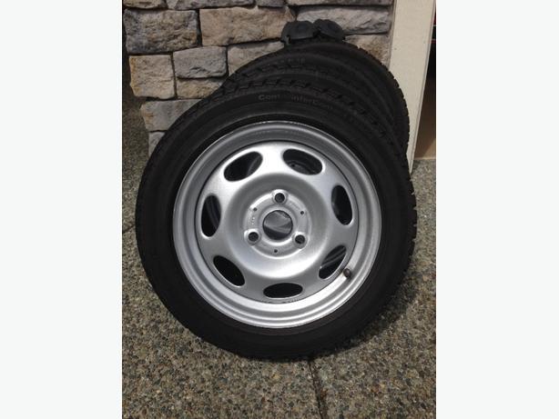 Smart Car winter snow tires