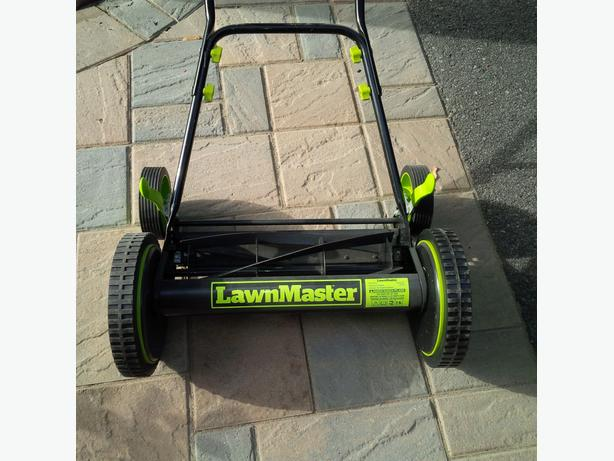 Lawnmaster manual lawnmower