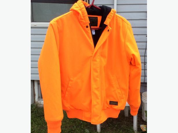 Youth Orange Hunting Jacket