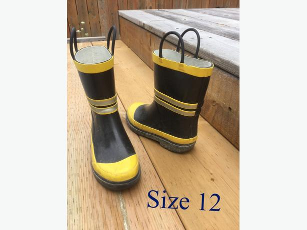 kid / children Rain boots, winter snow boots