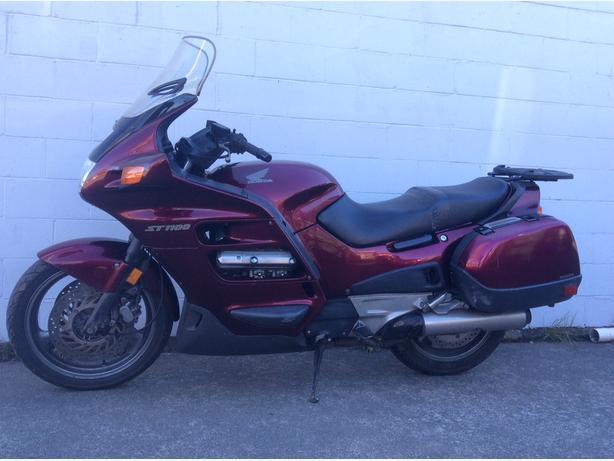 1999 ST1100 Honda Sport Touring Motorcycle TUFFCITY