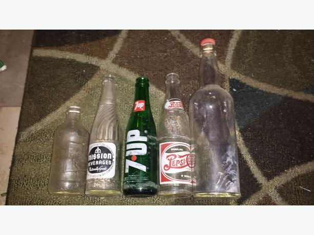 Antique or Vintage bottle collection
