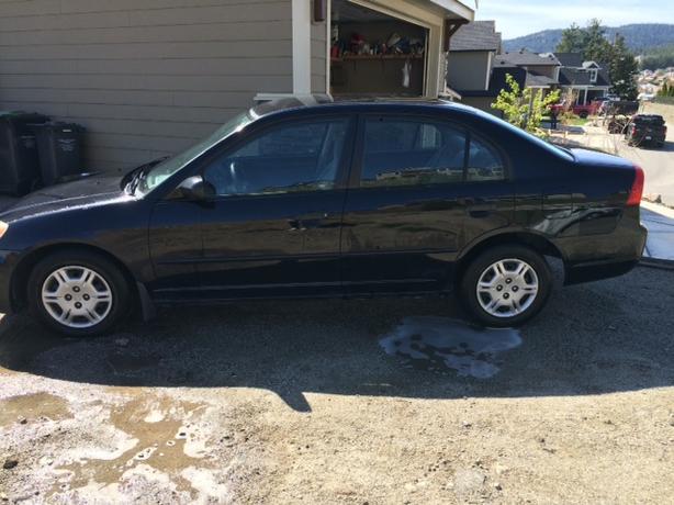 2001 Honda Civic reliable transportation