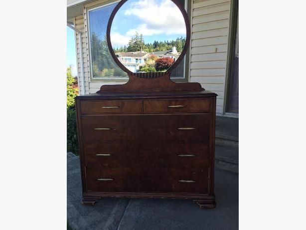 Antique Dresser & Chest