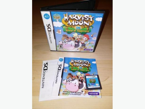 Harvest Moon Island Of Happiness For The Nintendo DS