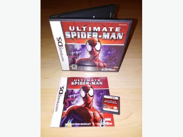 Ultimate Spiderman For The Nintendo DS