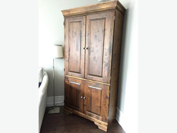 Corner Wood Cabinet