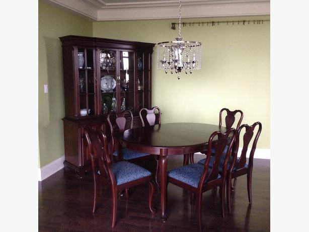 Gibbard Mahogany Dining Suite