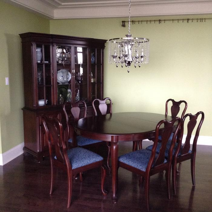 Gibbard Mahogany Dining Suite Table Chairs and China  : 55488145934 from www.usedvictoria.com size 700 x 700 jpeg 63kB