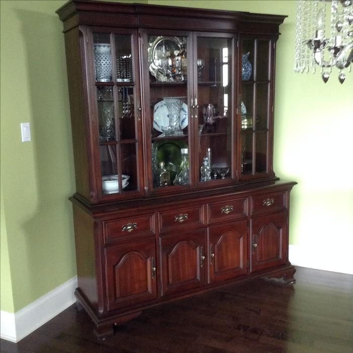 Table, Chairs And China Cabinet Esquimalt & View Royal, Victoria