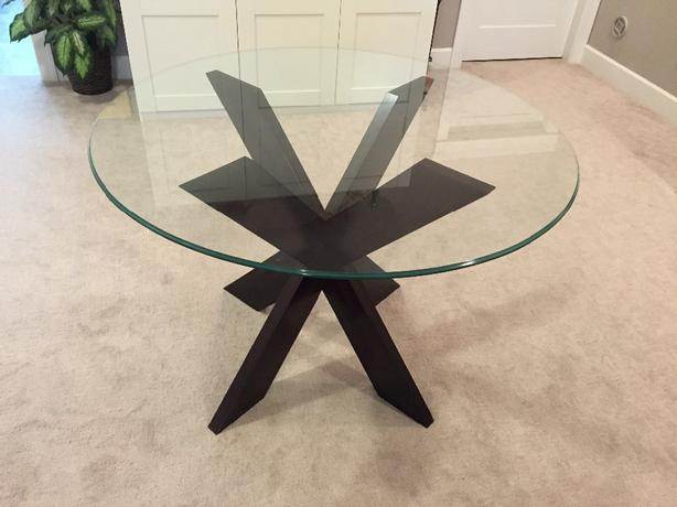 Pier One glass table