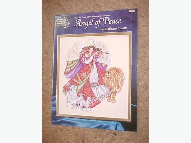 ANGEL OF PEACE CROSS STITCH PATTERN BOOKLET