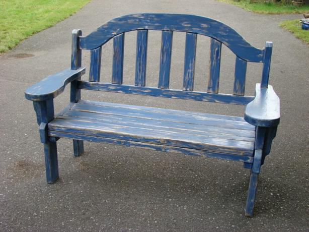 Custom Made Solid Wooden Bench