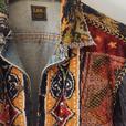 Re-Worked Vintage Lee Denim Jacket