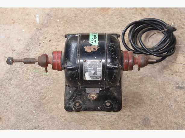 Vintage 2 Speed Electric Denture Buffing Motor