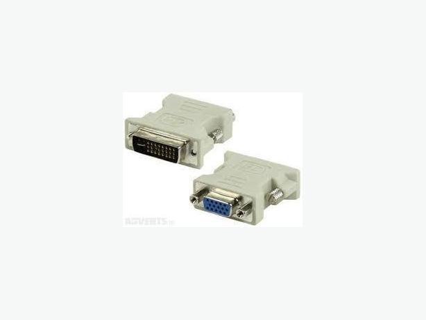 DVI-I (24+5) Male to HD15(VGA) Female adapter
