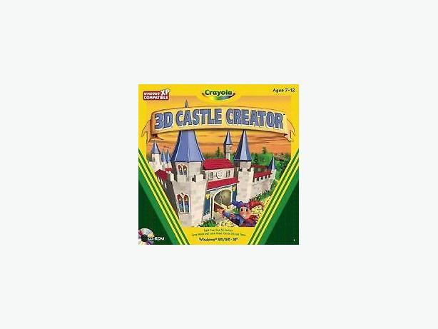 crayola castle creator  cd rom