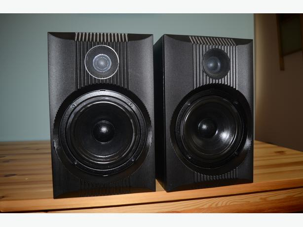 B&W 2001 ZMF 2 way speakers MADE IN ENGLAND